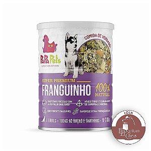 Papapets - Alimento Natural em Lata - CÃES FILHOTES - Franguinho