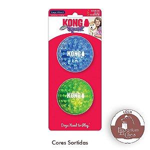 Kong Bolas Coloridas - GEODZ - Pacote com 2 bolas