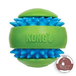 Kong Squeezz Goomz Ball LARGE - Bola de Borracha Com Texturas
