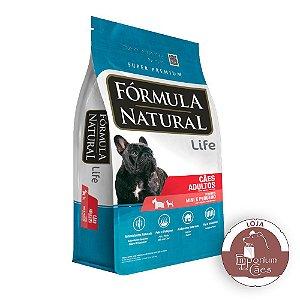 Fórmula Natural - Ração para CÃES Adultos Raças Mini e Pequenas - 2,5kg - LIFE
