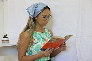 Lenço Camponesa Azul