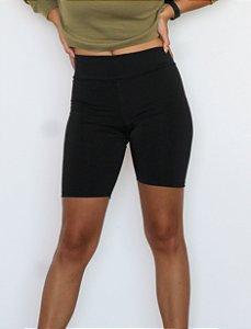 Biker shorts preto