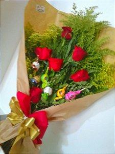 Ramalhete com Rosas e Trufas