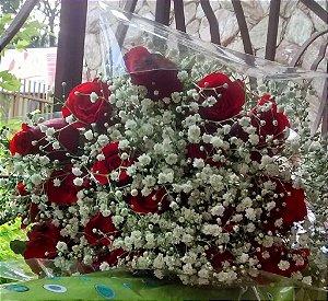 Ramalhete com 20 Rosas