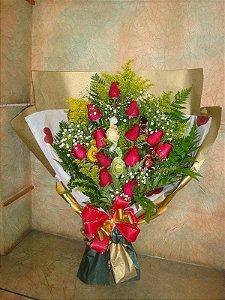 Ramalhete com Rosas e trufas -1