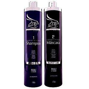 Zap Blond Care Kit Zap Profissional