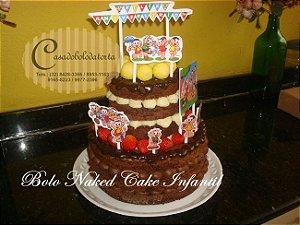 NAKED CAKE INFANTIL(BOLO PELADO)