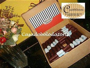CHARUTO DE CHOCOLATE PARA COMEMORAÇÃO