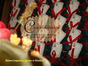 BEM CASADOS DE NATAL COM TAGS