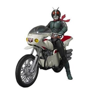S.H Figuarts - Kamen Rider Old V2 and Cyclone Remodeling