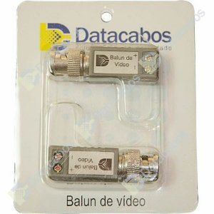 Kit Balun Passivo de Vídeo 180°