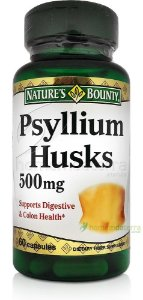 Psyllium Husks 500mg - Nature's Bounty