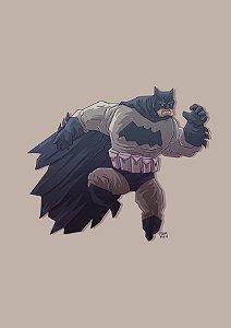 PRINT - Batman - Tamanho A4 - NÃO ACOMPANHA MOLDURA