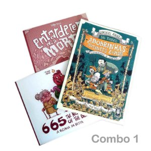 COMBO 1 | 665 + Entardecer dos Mortos + Abobrinhas Zumbis