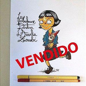 Arte Original - Amelie Zombie