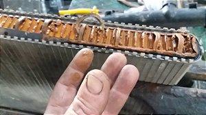 VARETAR RADIADOR ou CONSERTO / JAMAIS mande varetar radiador sem antes limpar arrefecimento com no mínimo 1 LITRO de limpa radiador