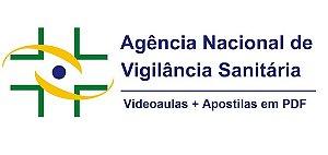 Videoaulas ANVISA 2016 - Técnico Administrativo (Nível médio, R$ 6 mil) - Cód: 26761