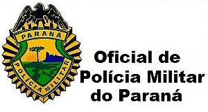 Videoaulas CFO 2016 - POLÍCIA MILITAR DO PARANÁ (prepare-se para o Curso de Formação de Oficiais) - Nível Médio, R$ 3.225,99 (após formado) - Cód: NP-27889