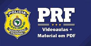 Videoaulas PRF - POLÍCIA RODOVIÁRIA FEDERAL - Policial Rodoviário (nível superior, R$ 9.473,57) para homens e mulheres