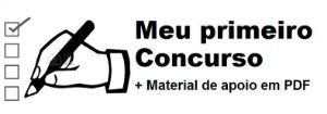 Videoaulas MEU PRIMEIRO CONCURSO 2019 - São 258 videoaulas com as disciplinas mais cobradas em 90% dos concursos