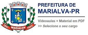 Videoaulas PREF MARIALVA-PR 2017 - Todos os níveis, cursos de R$ 149,90 por R$ 125,00 (escolha o seu cargo)