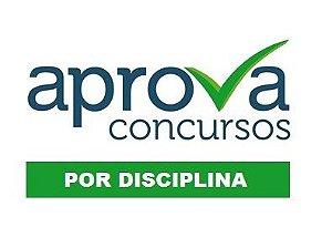 Videoaulas POR DISCIPLINA (ESCOLHA AQUI) para concursos + apostilas em PDF (acesso por três meses) - Cód.: DISCI-NP