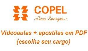 Videoaulas COPEL 2015 (curso completo - selecione seu cargo) - Até R$ 6.044,54 - Nível médio, técnico ou superior