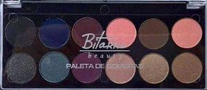 Paleta de Sombras - 12 cores  02 Bitarra