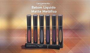 Batom Liquido Matte Metálico - Catharine Hill