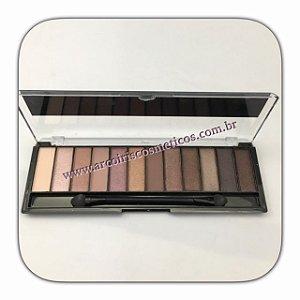 Kit de Sombras Blushed Nude Ruby Rose 12 cores HB-9906