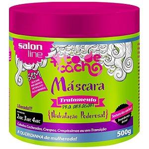 Máscara #todecacho Tratamento pra Arrasar Liberada Salon Line 500g