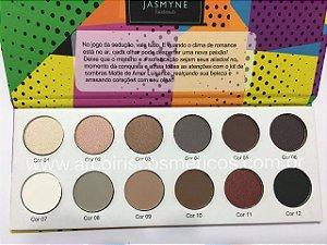 Paleta MATTE de amor Jasmyne Facebeauty A - V292