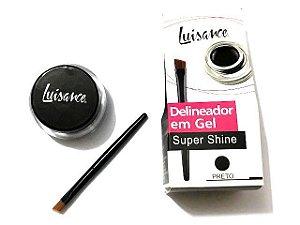 Delineador em Gel Super Shine  - Luisance  - PRETO