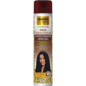 PROMOÇÃO - Condicionador S.O.S Cachos Coco Cabelos Nutridos 300ml.