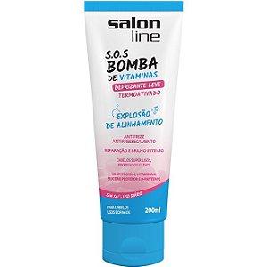 Defrisante Leve S.O.S Bomba de Vitaminas 200ml Salon Line