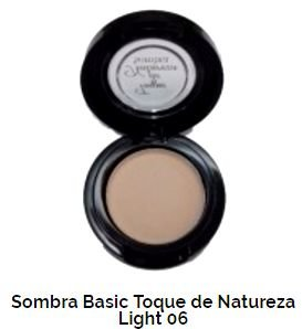 SOMBRA BASIC TOQUE DE NATUREZA  REF 06 - LIGHT