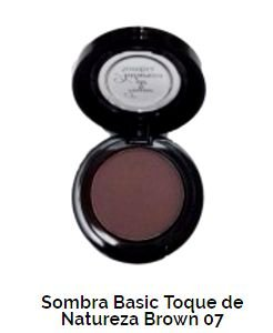 SOMBRA BASIC TOQUE DE NATUREZA  REF 07 - HOT BROWN