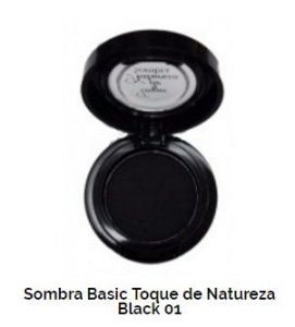 SOMBRA BASIC TOQUE DE NATUREZA REF 01 - BLACK