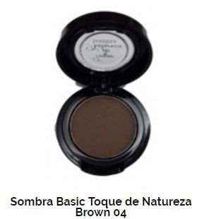 SOMBRA BASIC TOQUE DE NATUREZA REF 04 - BROWN