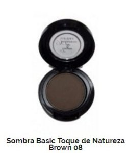 SOMBRA BASIC TOQUE DE NATUREZA REF 08 - COLD BROWN