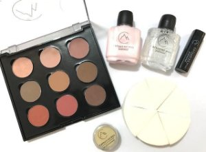 Paleta de Sombras PERSONAL PALETTE - 9 CORES -  Kit com 6 Itens - 1017/1 CATHARINE HILL