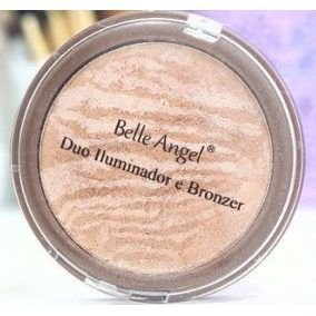 Duo Iluminador e Bronzer - Belle Angel B025