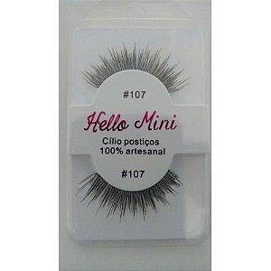 Cílios postiços Hello Mini modelo #107