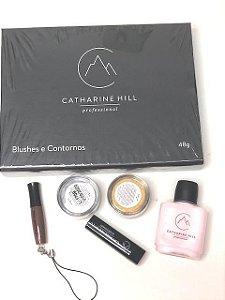 Kit Catharine Hill 6 itens Contorno , Blush e Iluminador