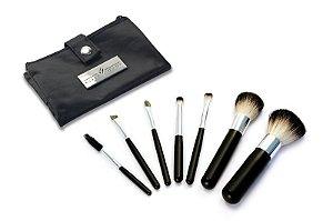 Kit Profissional de Pincéis Prof 7 Pocket Black - KLASS VOUGH
