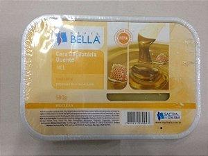 Cera Depilatória Quente Depil Bella Mel Com Cera de Abelha - 500g