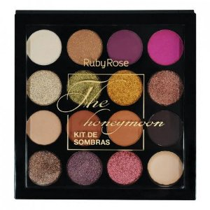 Paleta De Sombras - The Honeymoon - Hb - 1022 - Ruby Rose