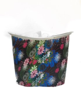 Porta Pincel Com Divisão - Estampa Flores Coloridas