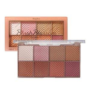 Paleta de Blush Blossom HB-6112 Ruby Rose- PROMOÇÃO
