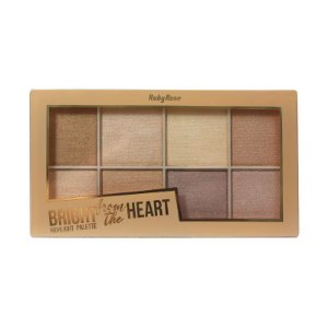 Paleta de Iluminador Bright from the Heart HB-7516 Ruby Rose- PROMOÇÃO